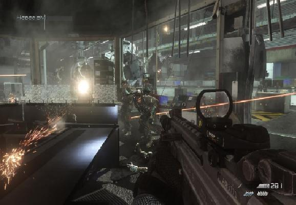 Call of Duty Ghosts скриншот